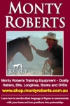 Monty Roberts Australian Distributor For Books, DVDs, CDs Halters, Long